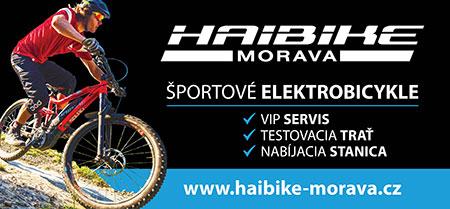 Haibike Morava – Športové elektrobicykle